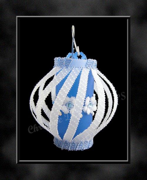 lampion bleu
