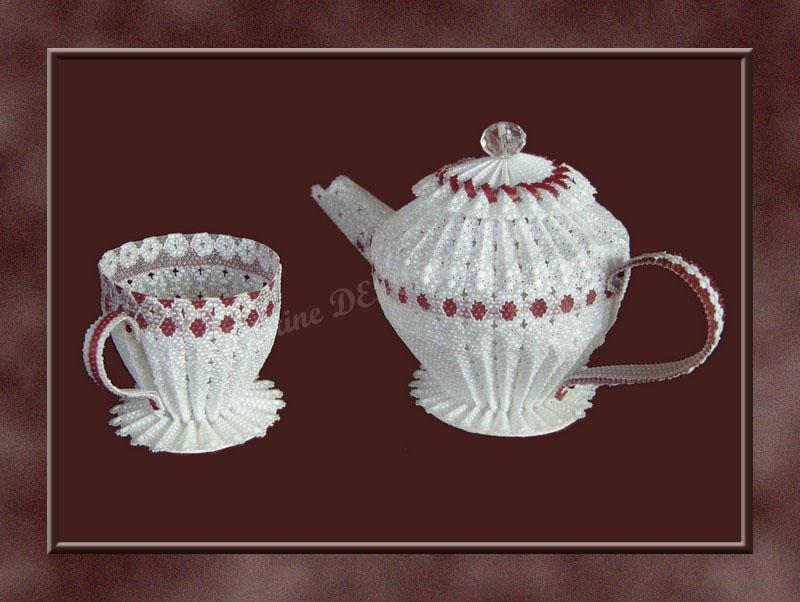 Cafetière et tasse